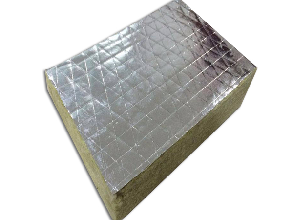 Aluminum foil faced rock wool board