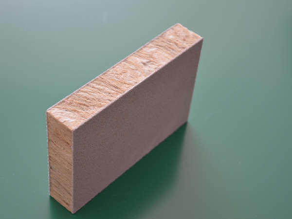Composite rock wool board