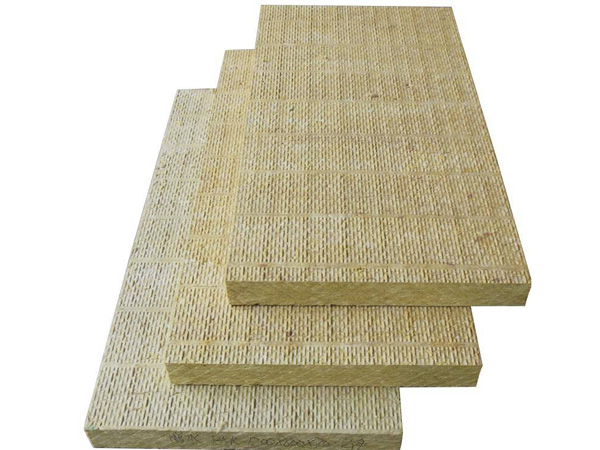 Outer wall rock wool board